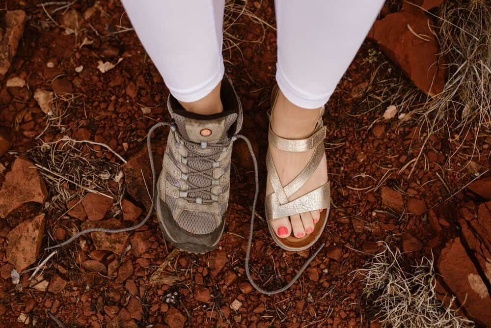 hiking-bride