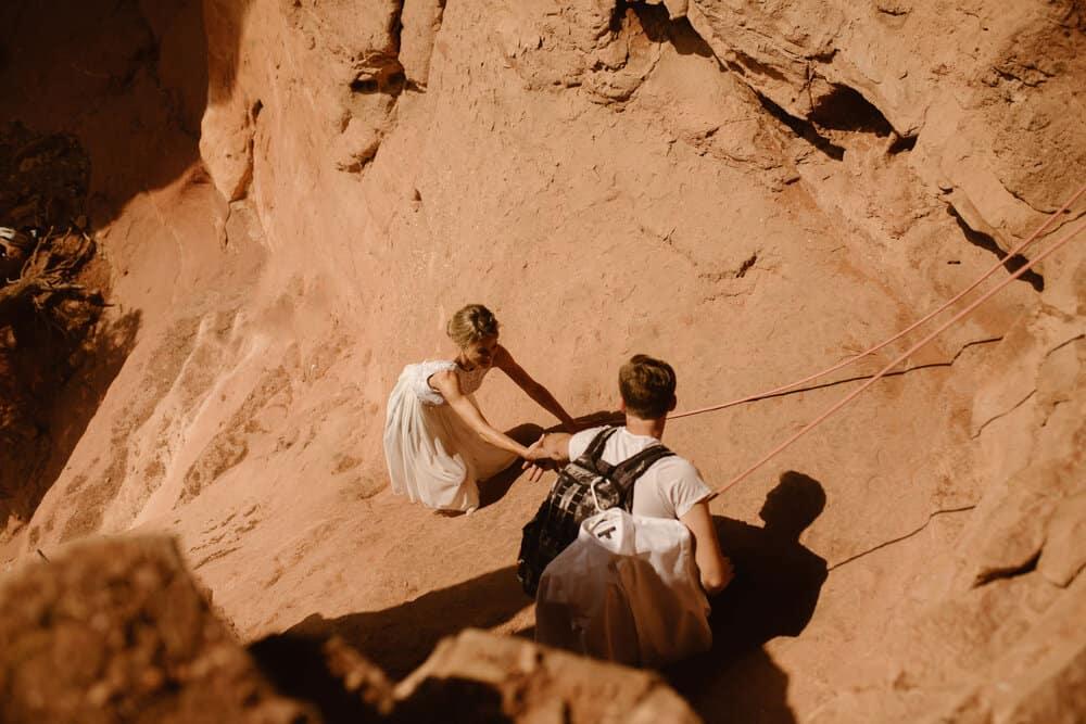rock-climbing-elopement