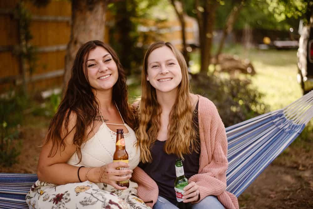 elopement-camping-reception