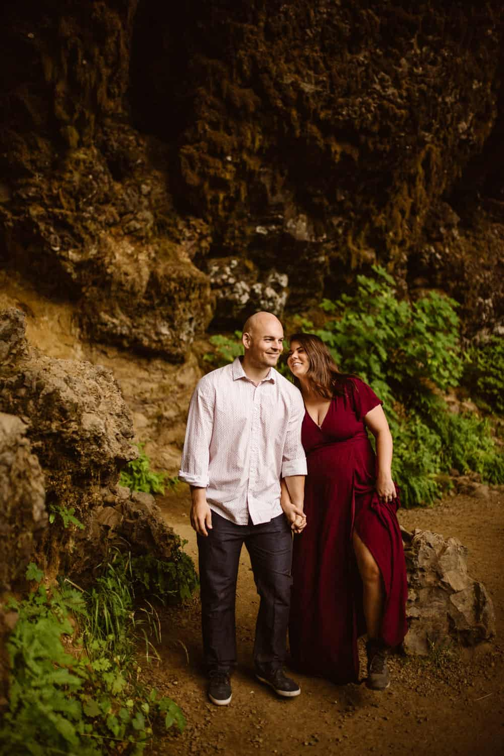 silver-fall-state-park-engagement